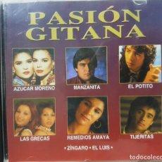 CDs de Música: PASIÓN GITANA - AZUCAR MORENO, MANZANITA, LAS GRECAS, EL POTITO Y MÁS ARTISTAS - 2001. Lote 273352783
