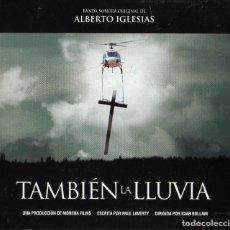 CDs de Música: TAMBIEN LA LLUVIA - ALBERTO IGLESIAS. Lote 217025335