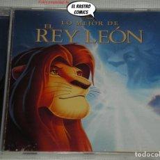 CD de Música: EL REY LEÓN, 1 Y 2. EL TESORO DE SIMBA, LO MEJOR, EN ESPAÑOL, CD WALT DISNEY, 2011, BSO, B S O. Lote 273362788