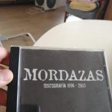 CDs de Música: MORDAZAS, DISCOGRAFIA CD 1996-2003. Lote 273398808