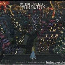 CDs de Música: WE BUTTER THE BREAD - WITH BUTTER / DIGIPACK CD ALBUM DEL 2010 / MUY BUEN ESTADO RF-10224. Lote 273403353