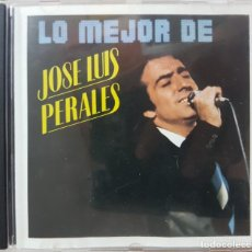 CDs de Música: LO MEJOR DE JOSE LUIS PERALES - HISPAVOX 1987 - FABRICADO EN HOLANDA. Lote 273454063