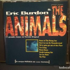 CDs de Música: ERIC BURDON. THE ANIMALS. CD ALBUM 13 GRANDES ÉXITOS EN VERSIÓN ORIGINAL. SPAIN PEPETO. Lote 273523753