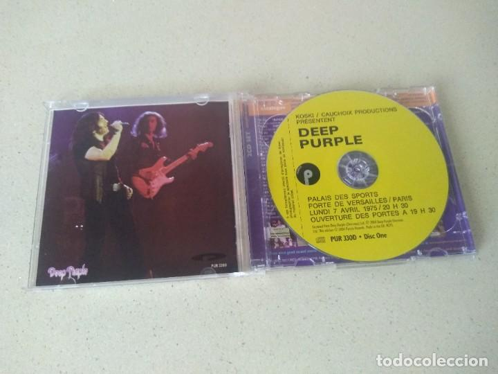 CDs de Música: Doble cd Deep Purple Live in Paris 1975 la derniere seance. NO USADOS - Foto 4 - 273739778