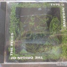CDs de Música: CD THE ORIGIN OF THE FECES TYPE O NEGATIVE. Lote 274006503