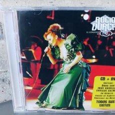 CD de Música: ROCIO DURCAL-EL CONCIERTO EN VIVO- CD + DVD. Lote 274018398