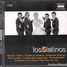 CD di Musica: LOS CINCO LATINOS - SELECCION 5 ESTRELLAS / 2 CD ALBUM DEL 2003 / MUY BUEN ESTADO RF-10251. Lote 274027878