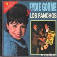 CDs de Musique: EYDE GORME Y LOS PANCHOS - GRANDES EXITOS / 2 CD ALBUM DE 1998 / MUY BUEN ESTADO RF-10254. Lote 274028053