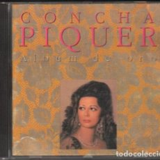CDs de Música: CONCHA PIQUER - ALBUM DE ORO / CD ALBUM DE 1990 / MUY BUEN ESTADO RF-10259. Lote 274028313