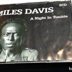 CDs de Música: CD DOBLE 2 CD CAJA GRANDE ( MILES DAVIS - A NIGHT IN TUNISIA) 2003 BLACK BOX- POCO USO. Lote 274033988