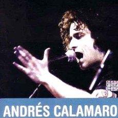 CDs de Música: -DVD CD ANDRES CALAMARO MADE IN ARGENTINA NUEVO SELLADO. Lote 274125673