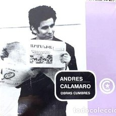 CDs de Música: -ANDRES CALAMARO OBRAS CUMBRES. Lote 274148293