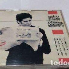 CDs de Música: -ANDRES CALAMARO NADIE SALE VIVO DE AQUI CD PAG 12. Lote 274143758