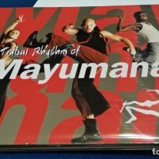 CDs de Música: CD DIGIPAKC ( MAYUMANA - TRIBAL RHYTHM OF ) 2005 MAYUMANA MUSIC LIMITED - MUY POCO USO. Lote 274182228