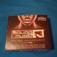 CDs de Música: SQUAD MUSIC 10 ANIVERSARIO MIXED BY JAVI VILLEGAS PACK 6CD PRECINTADO. Lote 274192378