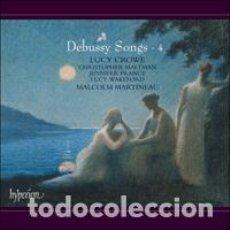 CD de Música: DEBUSSY - SONGS , CANCIONES VOL.4 (CD) LUCY CROWE. Lote 274203308