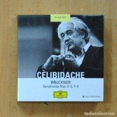 CD de Música: BRUCKNER - SYMPHONIES NOS 3 A 5, 7 A 9 - 8 CD. Lote 274205458