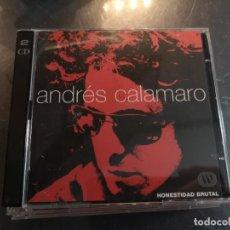 CDs de Música: CD 2 ANDRES CALAMARO HONESTIDAD BRUTAL. Lote 274209458