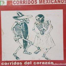 CDs de Música: CORRIDOS MEXICANOS - CORRIDOS DEL CORAZÓN - RARA EDICIÓN BISKAIA - CHANGARRO RECORDS - 2004. Lote 274278653