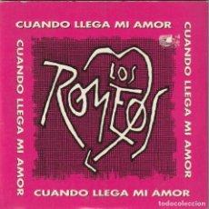 CD de Música: LOS ROMEOS - CUANDO LLEGUE MI AMOR (CDSINGLE PROMOCIONAL 1 TEMA 1993). Lote 274376123