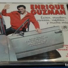 CD di Musica: CD DOBLE ( ENRIQUE GUZMAN - EXITOS, STANDARTS, RAREZAS, INEDITAS..Y MUCHO MAS ) 1999 RAMA LAMA. Lote 274442358