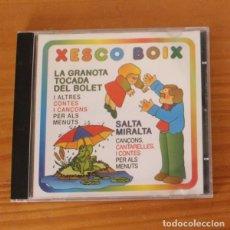 CD de Música: XESCO BOIX -CD- CONTES I CANÇONS PER ALS MENUTS. Lote 274541903