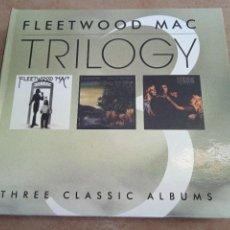 CDs de Música: FLEETWOOD MAC. TRILOGY. THREE CLASSIC ALBUMS. ESTUCHE CON 3 CDS + ENCARTES. BUEN ESTADO.. Lote 274612618