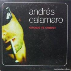 CDs de Música: ANDRÉS CALAMARO - CUANDO TE CONOCÍ - CD PROMOCIONAL - 1999. Lote 274616848