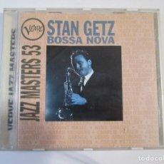 CDs de Música: CD, STAN GETZ, BOSSA NOVA, JAZZ MASTERS 53. Lote 274618973