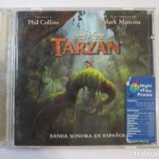 CDs de Música: CD, BANDA SONORA EN ESPAÑOL DE LA PELÍCULA TARZAN, WALT DISNEY. Lote 274624723