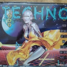 CDs de Música: TODO TECHNO - 2 CD 1992 YAZOO EURYTHMICS O.M.D. VISAGE KRAFTWERK CULTURE CLUB LIMAHL ERASURE. Lote 274627938