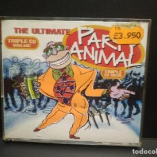 CDs de Música: THE ULTIMATE PARTY ANIMAL - TRIPLE CD GTV RECORDS 1996 PEPETO. Lote 274645713