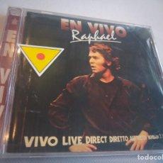 CD de Música: RAFAEL - EN VIVO. Lote 274658948