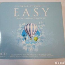CDs de Música: SET 3 CD'S, GREATEST EVER EASY, THE DEFINITIVE COLLECTION. Lote 274684423
