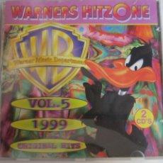 CDs de Música: SET 2 CD'S, WARNERS HITZONE VOL.5. Lote 274695063