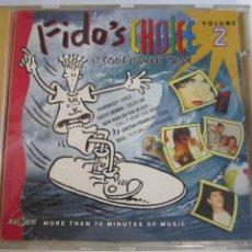 CDs de Música: CD, FIDO'S CHOICE 2- 17 COOL DANCE TRAX. Lote 274700173
