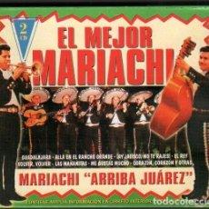 """CDs de Musique: EL MEJOR MARIACHI - MARIACHI """"ARRIBA JUAREZ"""" / 2 CD ALBUM DEL 2000 / MUY BUEN ESTADO RF-10271. Lote 274847473"""