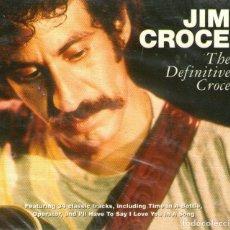 CDs de Música: DOBLE CD ALBUM: JIM CROCE - THE DEFINITIVE CROCE - 34 TRACKS - DEMON MUSIC 2015 - NUEVO Y PRECINTADO. Lote 274853528