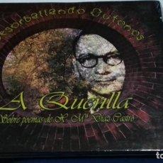 CDs de Música: CD DIGIPACK ( A QUENLLA - DESORBALLANDO OUTONOS ) 2014- FOLK GALLEGO - NUEVO PRECINTADO - RAREZA. Lote 274902738