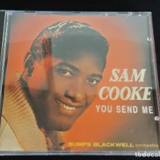 CDs de Música: SAM COOKE / YOU SEND ME / BUMPS BLACKWELL ORCHESTRA / CD-KEEN / 18 TEMAS / IMPECABLE.. Lote 274912463