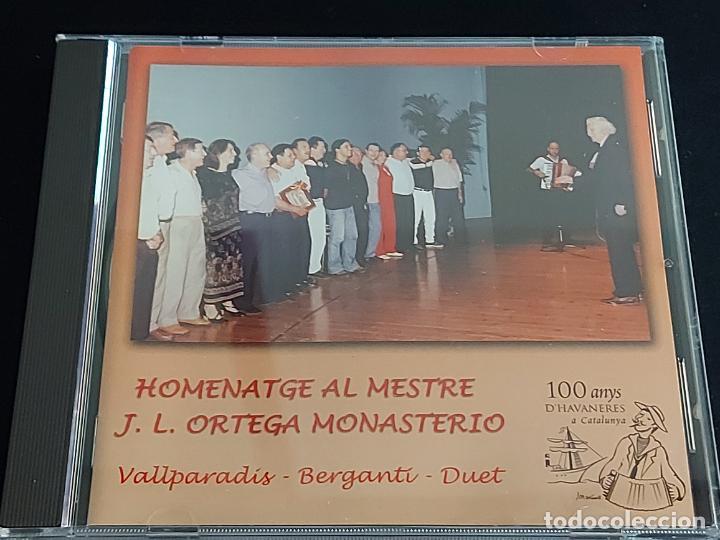 BERGANTÍ DUET / HOMENATGE AL MESTRE J.L. ORTEGA MONASTERIO / VALLPARADÍS / 2002 / 16 TEMAS / LUJO. (Música - CD's Country y Folk)