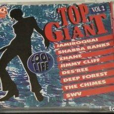 CDs de Música: CD PROMO RESTAURANTE QUICK ( TOP GIANT COOL LIFE VOL. 2 ) 1994 FRANCE QUICK - POCO USO. Lote 274927868