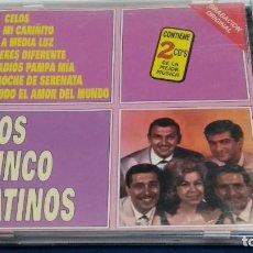 CDs de Música: CD DOBLE 2X CD ( LOS CINCO LATINOS ) 1999 HELIX - 30 CANCIONES. Lote 274939218