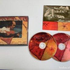 CDs de Música: PACO DE LUCIA. ANTOLOGÍA CD. Lote 275093183