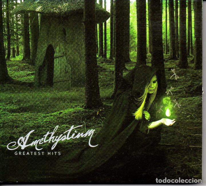 AMETHYSTIUM – GREATEST HITS 2 CDS DIGIPACK--NEW AGE-- (Música - CD's New age)