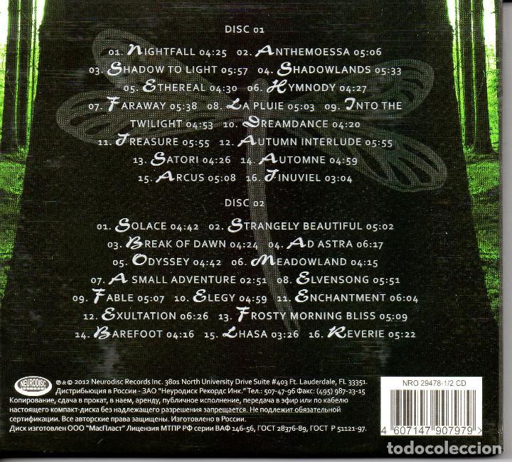 CDs de Música: Amethystium – Greatest Hits 2 CDS DIGIPACK--New Age-- - Foto 2 - 288567583