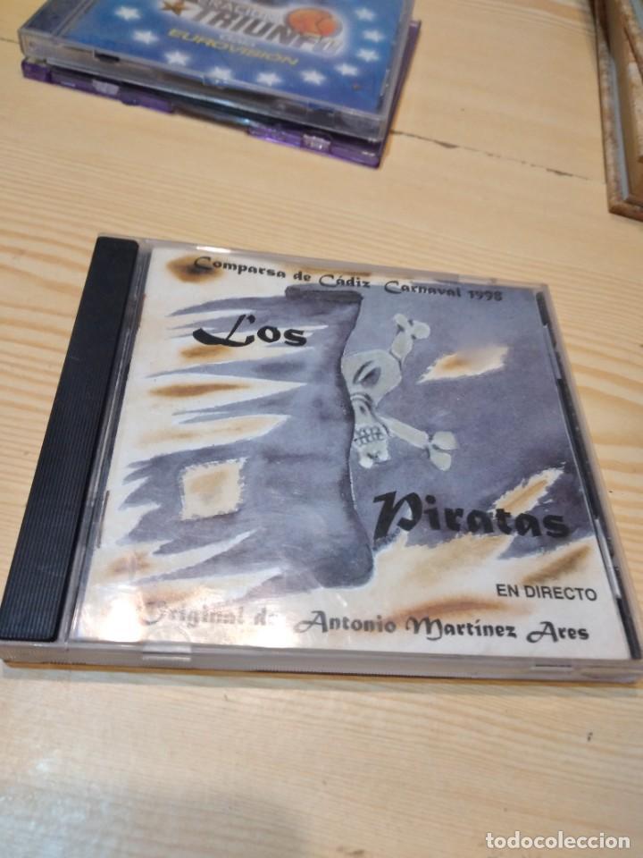 G-83 CD MUSICA LOS PIRATAS - COMPARSA DEL CARNAVAL DE CADIZ ANTONIO MARTINEZ ARES CD MUSICA (Música - CD's Otros Estilos)