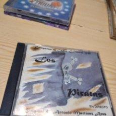CDs de Música: G-83 CD MUSICA LOS PIRATAS - COMPARSA DEL CARNAVAL DE CADIZ ANTONIO MARTINEZ ARES CD MUSICA. Lote 275166988