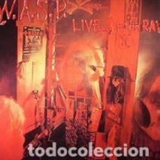 """CDs de Música: CD WASP """"LIVE… IN THE RAW"""". Lote 275252498"""