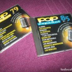 CDs de Música: LOTE DE 2 CD´S DEL POP ESPAÑOL DEL AÑO - 1979 - EL OTRO DE 1985 ..BURNING , LOQUILO,MORIS, TOPO..ET. Lote 275313278